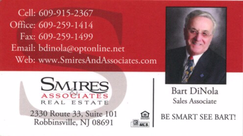 Thinking of buying or selling a home… Be smart call Bart